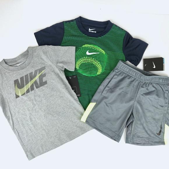 9cf0a5f2e7 Nike Matching Sets   New Drifit Activewear Set Tshirts Shorts 4t ...